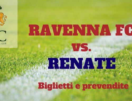 Ravenna FC – Renate informazioni sui biglietti