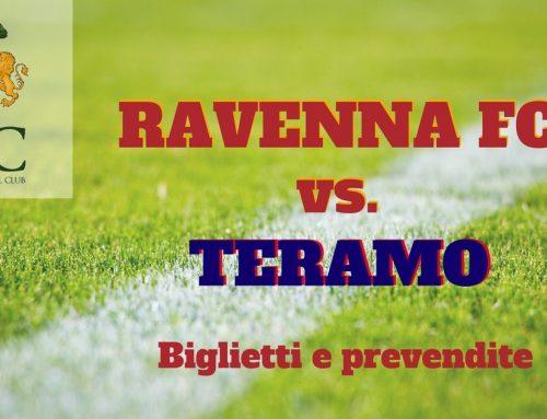 Ravenna FC – Teramo informazioni sui biglietti