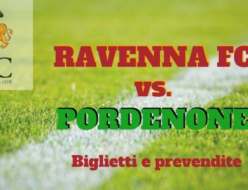 Ravenna FC – Pordenone informazioni sui biglietti