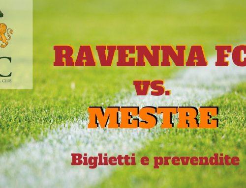 Ravenna FC – Mestre informazioni sui biglietti
