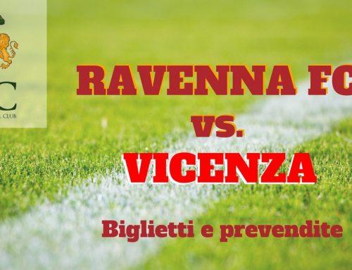 Ravenna FC – Vicenza informazioni sui biglietti