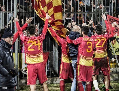 Pari nel derby di Santarcangelo: finisce qui tra gli applausi la stagione del Ravenna