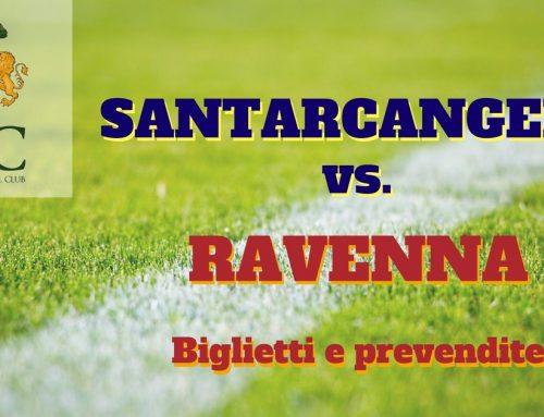 Santarcangelo – Ravenna FC informazioni sulle prevendite