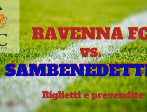 Ravenna FC – Sambenedettese informazioni sui biglietti