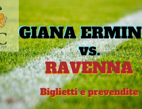 Giana Erminio – Ravenna FC informazioni sui biglietti
