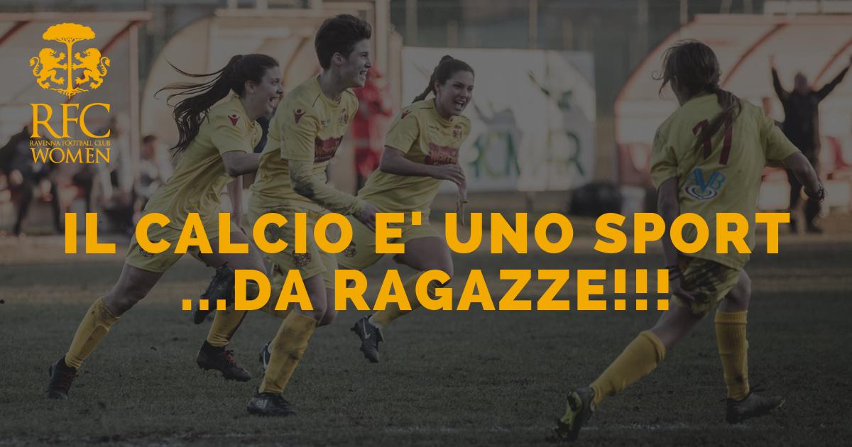 IL CALCIO E' UNO SPORT ...DA RAGAZZE!!!
