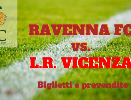 RAVENNA FC – L.R. VICENZA informazioni sui biglietti