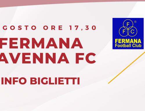 Fermana – Ravenna FC informazioni sui biglietti
