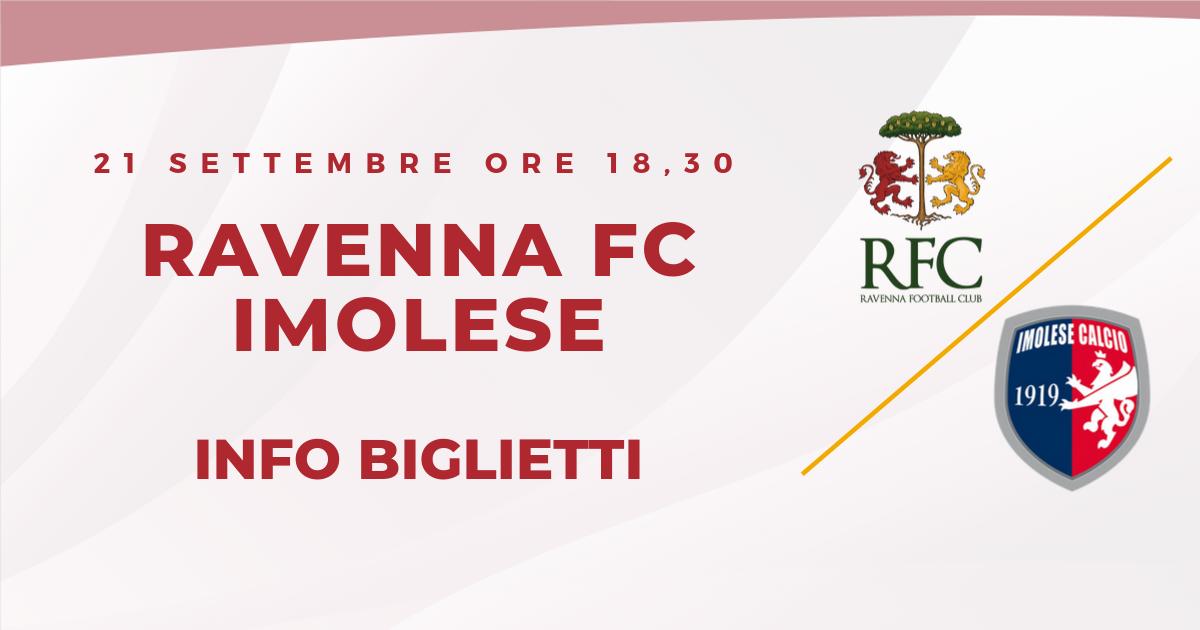 RAVENNA FC – IMOLESE informazioni sui biglietti