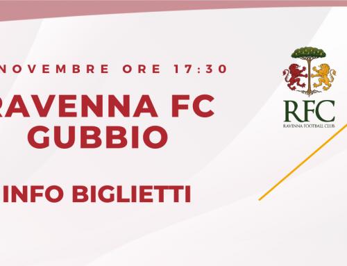 RAVENNA FC – Gubbio informazioni sui biglietti