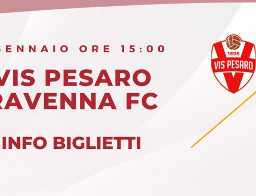 VIS PESARO – RAVENNA FC – Informazioni sui biglietti