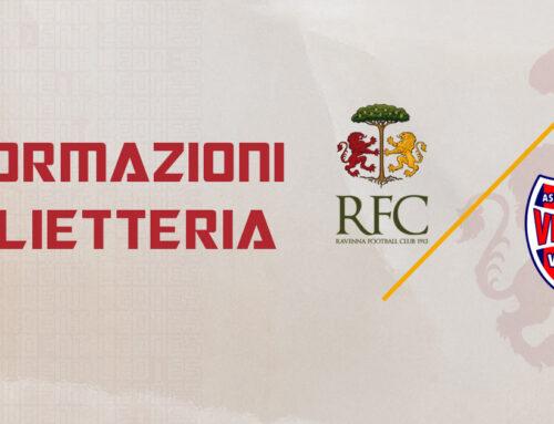 RAVENNA FC – Virtus Vecomp Verona informazioni sui biglietti