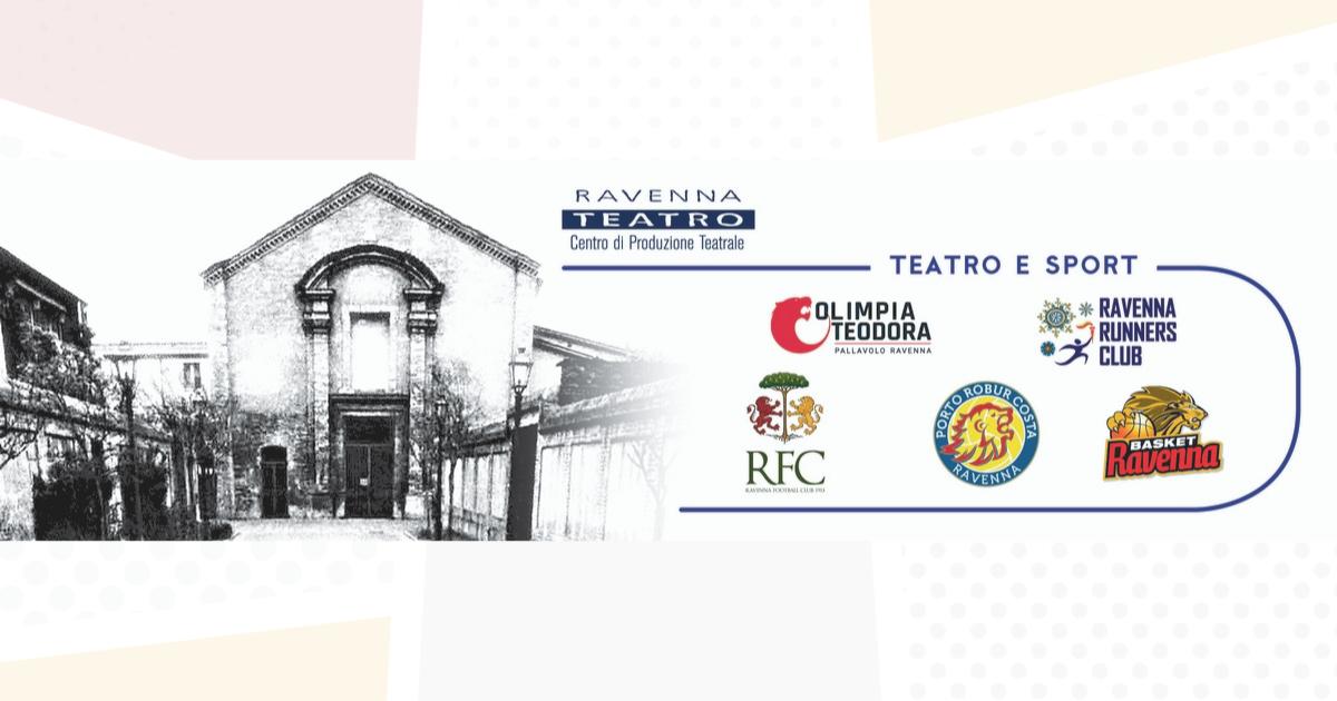 Teatro e Sport, anche il Ravenna FC con Ravenna Teatro e le altre realtà cittadine