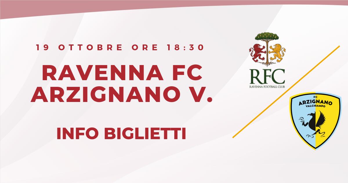 RAVENNA FC – ARZIGNANO V. informazioni sui biglietti
