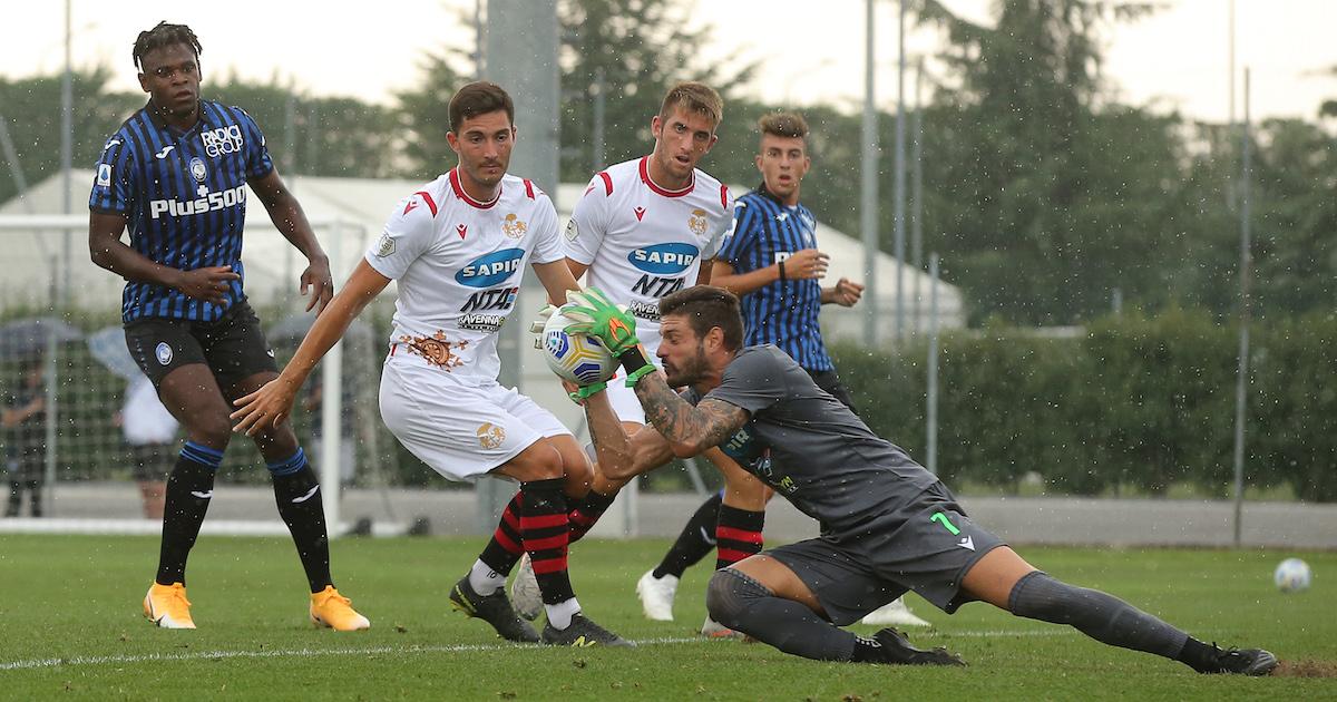 Un buon Ravenna al cospetto dell'Atalanta, 3-1 il finale