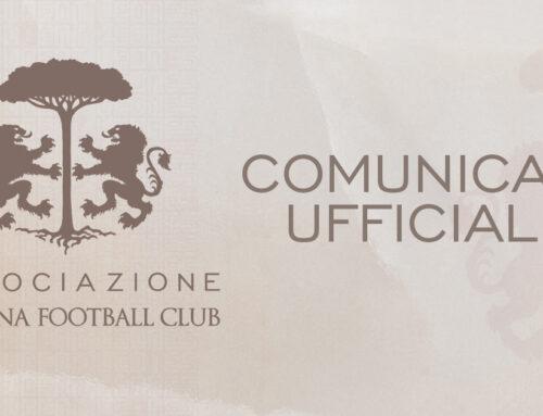 COMUNICATO UFFICIALE – Associazione Ravenna FC