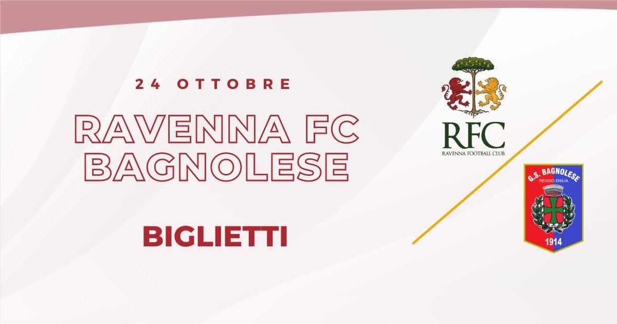 RAVENNA FC – Bagnolese informazioni sui biglietti